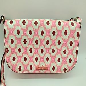 Kate Spade pink crossbody purse pre owned